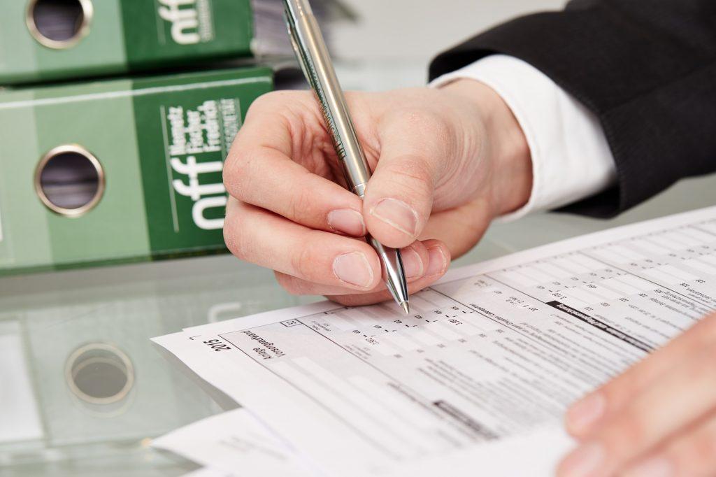 NFF Steuererklärung für Privatpersonen
